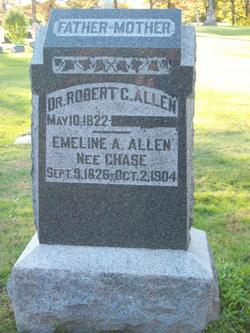 Emeline A. <I>Chase</I> Allen