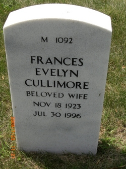 Frances Evelyn Cullimore
