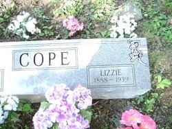 """Elizabeth """"Lizzie"""" <I>Miller</I> Cope"""