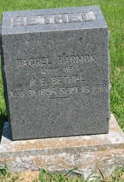 Rachel <I>Harmon</I> Bethel