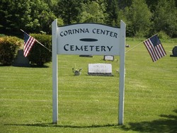 Corinna Center Cemetery