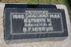 Katherine M. <I>Ernst</I> McSwain