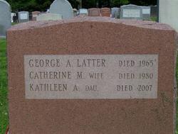 Kathleen A. Latter
