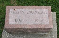 """William M. """"Bill"""" Snodgrass"""
