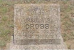 Ursula B. <I>Stagner</I> Cross