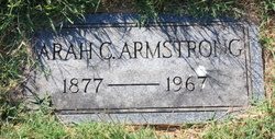 """Sarah C """"Carrie"""" Armstrong"""