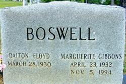 Marguerite <I>Gibbons</I> Boswell