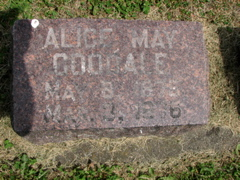 Alice May Goodale