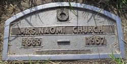 Naomi <I>Voluar</I> Church