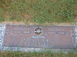 Thelma Alfreda <I>Niceswander</I> Adams