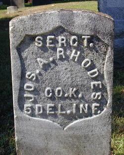 Sgt Joseph A. Rhodes