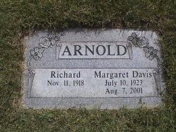 Margaret <I>Davis</I> Arnold