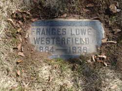 Frances <I>Lowe</I> Westerfield