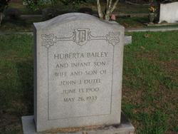 Huberta <I>Bailey</I> Dutel