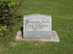 Magdalena <I>Strahm</I> Yegerlehner