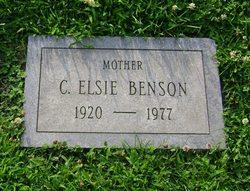 Clara Elsie Benson