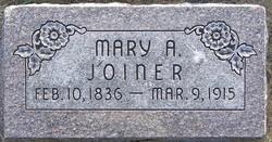Mary Ann <I>Taylor</I> Joiner