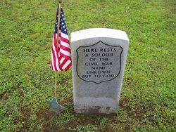 Civil War Soldier Unknown