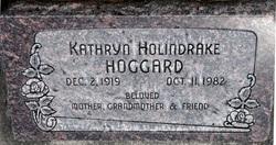Kathryn <I>Holindrake</I> Hoggard