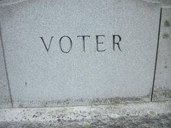 Henry Burton Voter