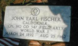 Corp John Earl Fischer