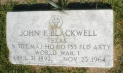 John F. Blackwell
