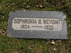 Sophronia <I>Blanchard</I> Weygint