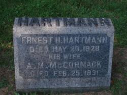 Anna M. <I>McCormack</I> Hartmann