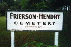 Frierson-Hendry Cemetery