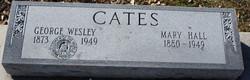 Mary <I>Hall</I> Cates