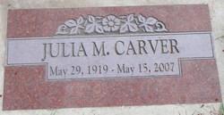 Julia M. <I>Browiak</I> Carver
