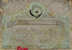 "Arilla ""Rillie"" <I>Burd</I> Barnhart"