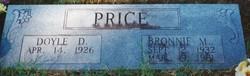 Bronnie Mae <I>Hymer</I> Price