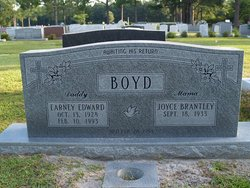 Joyce <I>Brantley</I> Boyd