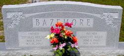 Annette <I>Ward</I> Bazemore