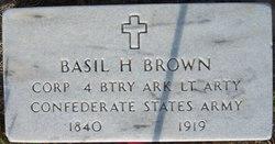 Basil Hollis Brown