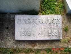 Florence <I>Hinchman</I> Watts