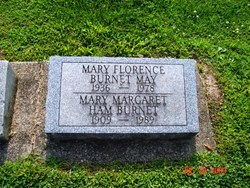 Mary Margaret <I>Ham</I> Burnet