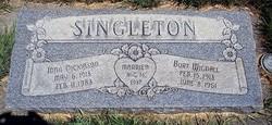 Burt Wignal Singleton