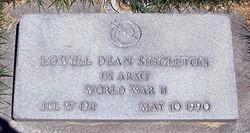 Lowell Dean Singleton