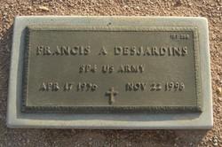 "Francis Alfred ""Toby"" Desjardins"