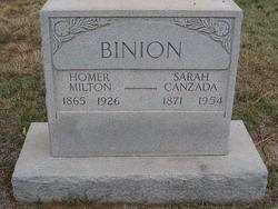Homer Milton Binion