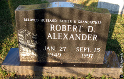 "Robert Dale ""Bob"" Alexander, Jr"