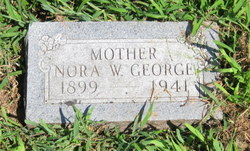 Nora W <I>Dishman</I> George