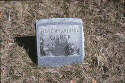 Floye <I>McFarland</I> Absher