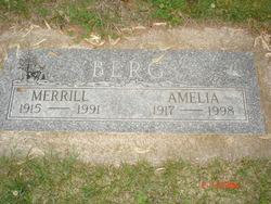 Amelia Elizabeth <I>Arends</I> Berg