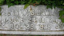 Juanita S Davila