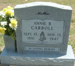 Annie Bell <I>Ely</I> Carroll