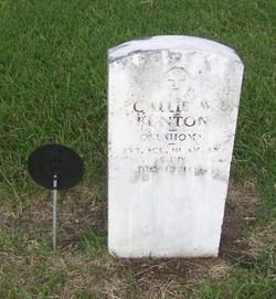 Callie W. Bunton