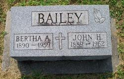 Bertha A Bailey